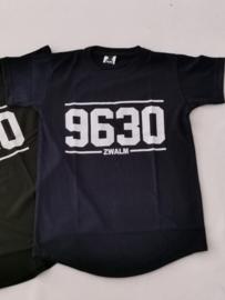 t-shirt navy blauw