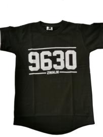 T-shirt 9630 Zwart