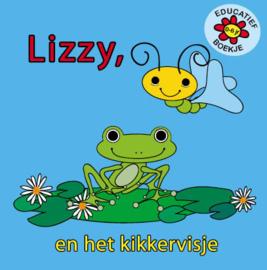 Kinderboekje Lizzy en het kikkervisje