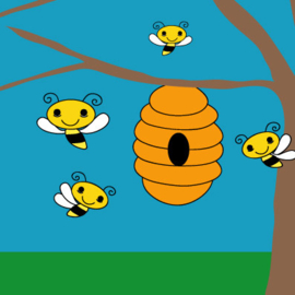 Kaart Bijenkorf