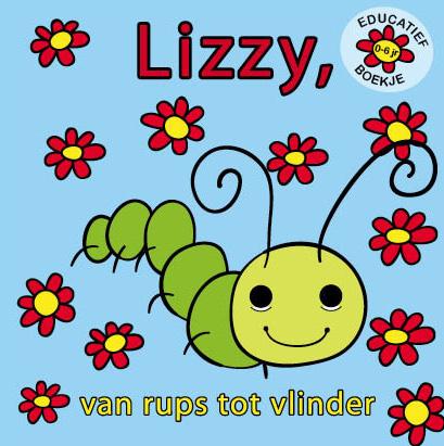 Boekje Lizzy van rups tot vlinder