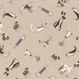 Vrolijke Honden & een Teckel