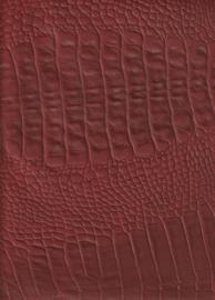 Euro Crocoprint Rood (9062)