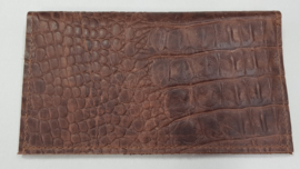 Portemonnee croco bruin (02)