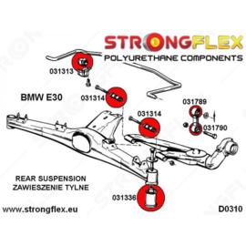 E30 Stabilisatorstang - achterkant