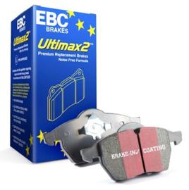 E30 EBC - Remblokkenset Achteras DP447 - Standaard