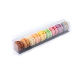 Premium macarons in geschenk verpakking