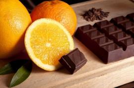Orange in Chocolate