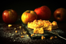 Apple Crispy Pie