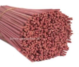 Reed-Ratan Houten Stokjes Roze -  Mauve 20 cm.