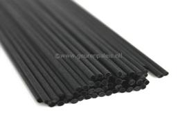 Reed-Ratan Fiber Stokjes Zwart 24 cm