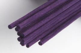 Reed-Ratan Fiber Stokjes Paars 24 cm
