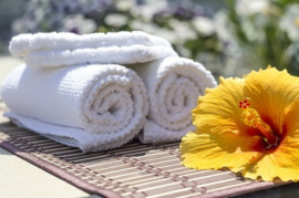 Flowery Musk Towels