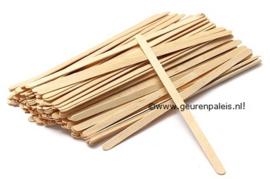 Roerstokjes FSC hout 18 cm.