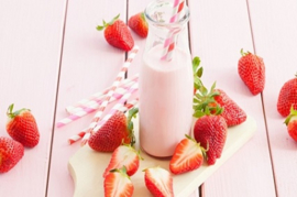 Milkshake of Strawberry