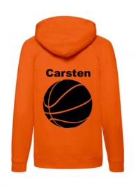 Naam + Basketball Kids Hoodie