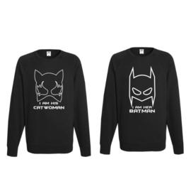 Sweater Batman & Catwoman