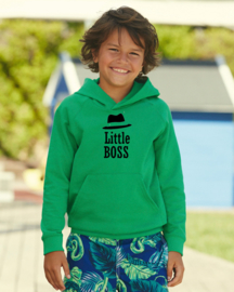Kids Little Boss Hoodie