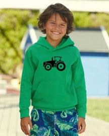 Kids Hoodie Tractor