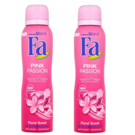Fa Women Deodorant Pink Passion 2Pack