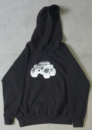 Kids Hoodie Monster Auto + Grave Digger