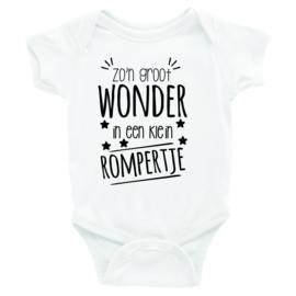 Baby Bodysuit Wonder Rompertje