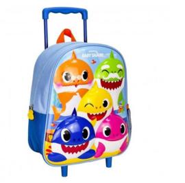 BABY SHARK - trolley 3d kinderkamer, blauw