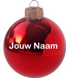 Kerstbal met naam