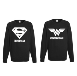 Sweater Superman & Superwoman