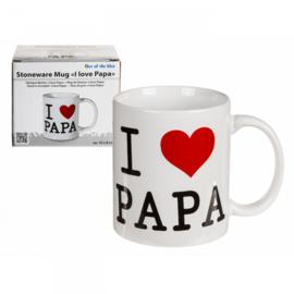Mok I love Papa 10 x 8 cm