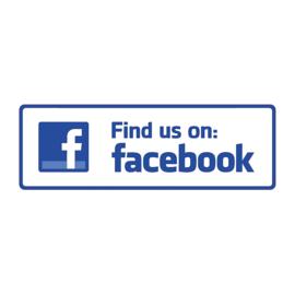 Find us on: Facebook