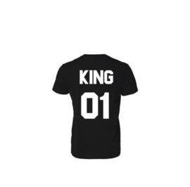 T-shirt King + Rugnummer