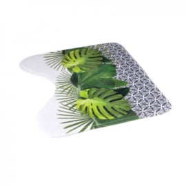 contour wc microfiber 45 * 45cm grafische jungle