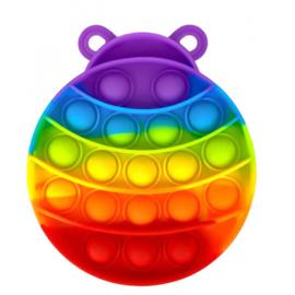 Push Pop - Pop it - Beetle Multicoloured