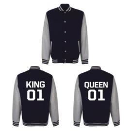 Jacket King & Queen + Nummer