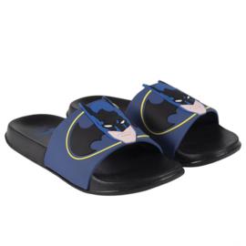 Batman - slippers zwembad, zwart