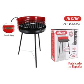 ronde barbecue met versterking 42cm algon