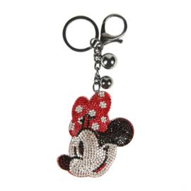 Minnie - sleutelhanger, zwart