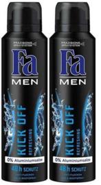 Fa Men Deodorant Kick Off 2Pack