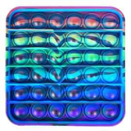 Push Pop - Pop it - Vierkant meerkleurig