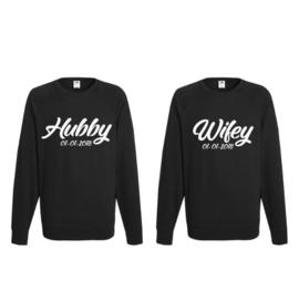 Sweater Hubby & Wifey + Datum