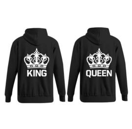 Hoodie King & Queen + Kroon