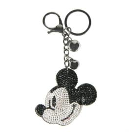 Mickey - sleutelhanger, zwart