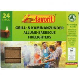 Grill / kolenontsteker Eco 24er-kubus 100% FSC