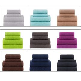 handdoek Badstof 50x100 500g MIX