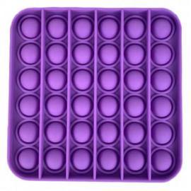 Push Pop - Pop it - Vierkant Paars