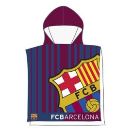 Poncho Beach ( Microvezel 55X110cm) FC Barcelona