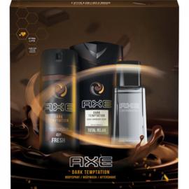 Axe GP Shower 250ml + Deospray 150ml + AS 100ml Dark Temptation
