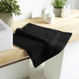 handdoek toilet zwart 90x50x0,5