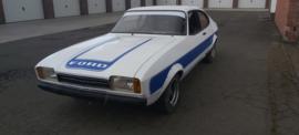Ford Capri Bestickering + Onderdelen